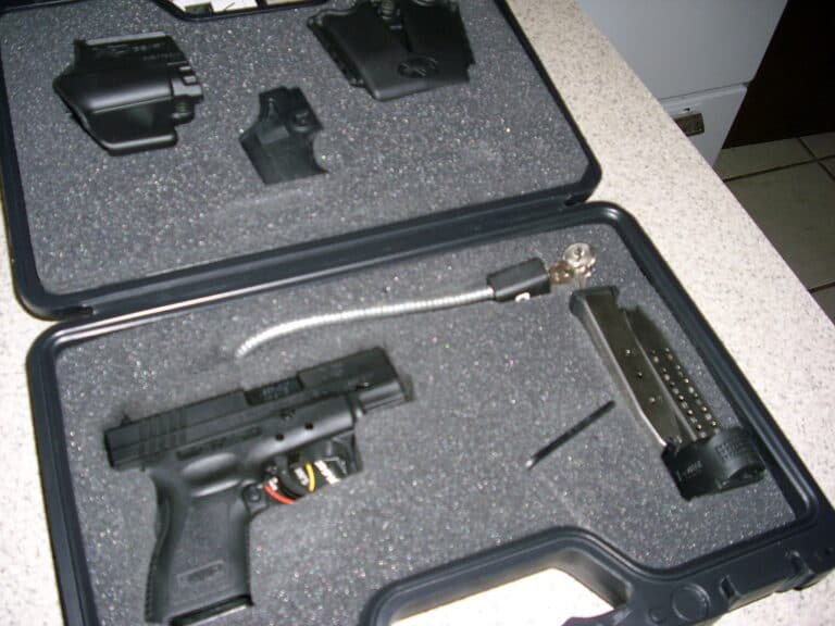 How To Keep A Gun Safe From Tipping Over?